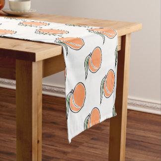Peach Short Table Runner