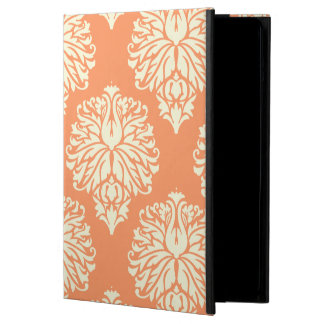 Peach Southern Cottage Damask Cover For iPad Air