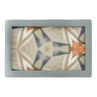 Peach Star Pattern Belt Buckles