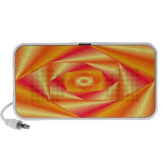 Peach Swirl Doodle Speaker