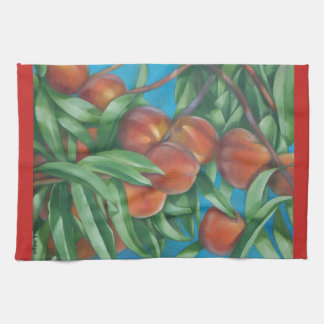 Peach Tree  Kitchen Towel