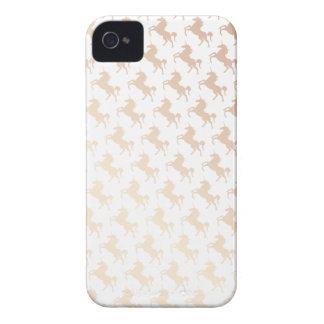 Peach Unicorns iPhone 4 Covers