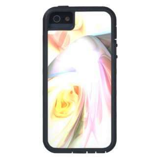 Peaches and Cream Abstract iPhone 5 Cover