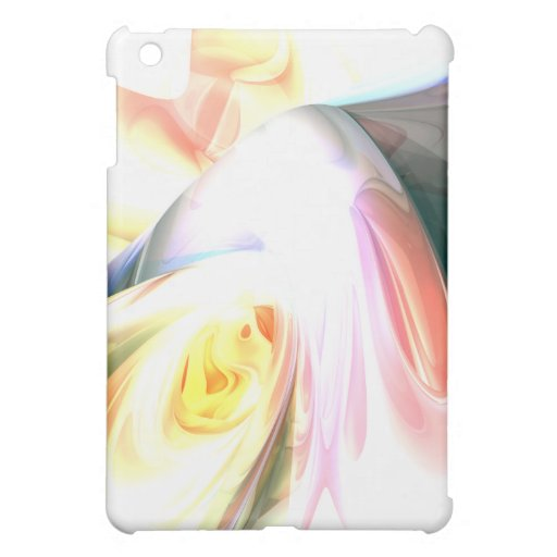 Peaches and Cream Abstract Case For The iPad Mini