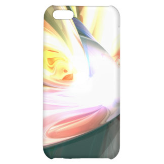 Peaches and Cream Abstract iPhone 5C Covers