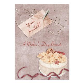 Peaches and Cream 13 Cm X 18 Cm Invitation Card