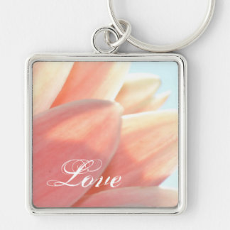 Peaches and Cream-Love Keychain