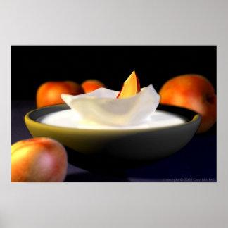 Peaches and Cream Poster