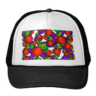 Peaches and plums cap