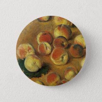 Peaches by Claude Monet 6 Cm Round Badge