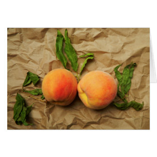 Peaches.  Communicate & Connect Card