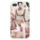 Peaches & Cream iPhone 4 case