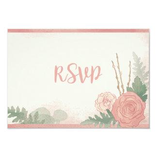 Peaches & Cream RSVP 9 Cm X 13 Cm Invitation Card