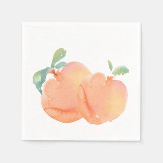 Peaches Disposable Napkin