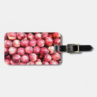 Peaches Luggage Tag