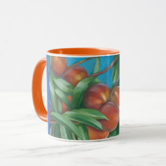 Peaches Mug