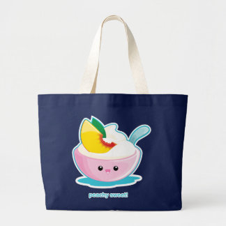Peaches 'N Cream Jumbo Tote Bag