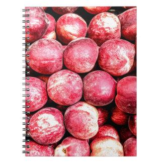 Peaches Notebook