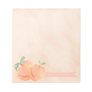 Peaches Notepad