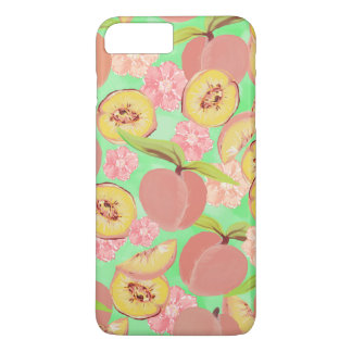 Peaches on Green iPhone 7 Plus Case