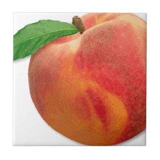 peaches tile