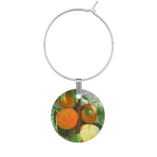 PEACHES WINE CHARM