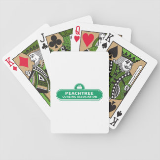 Peachtree Curling Bicycle Playing Cards