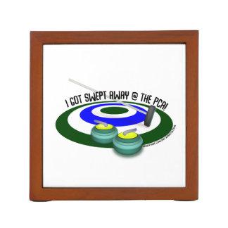 Peachtree Curling Desk Organizer