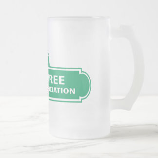 Peachtree Curling Logo Frosted Mug