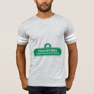 Peachtree Curling Logo Men's Football T-Shirt
