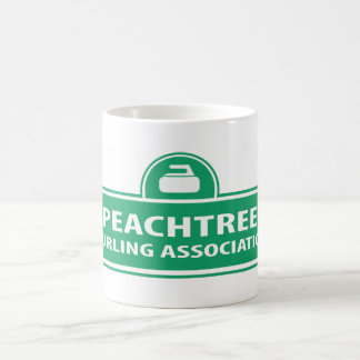 Peachtree Curling Logo Mug
