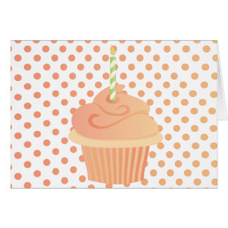 Peachy Cake Card