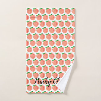 Peachy Clean handtowel Hand Towel