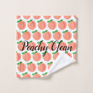 Peachy Clean wash cloth