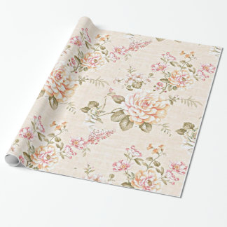 Peachy Day Wrapping Paper