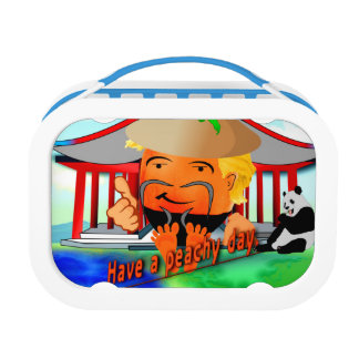 Peachy in China Lunch Box