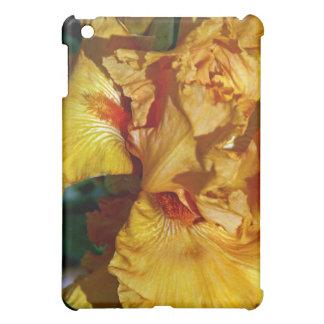Peachy Petals Floral Design iPad Mini Cover