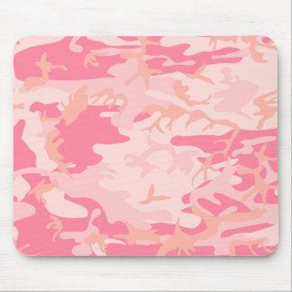 Peachy Pink Camo Fun Mousepad