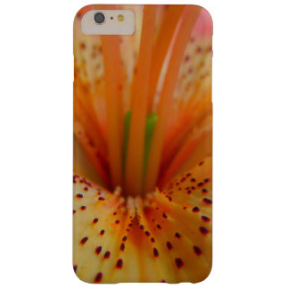 Peachy Pink Up Close Lily Barely There iPhone 6 Plus Case