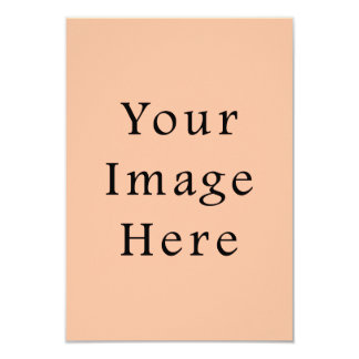 Peachy Skin Tone Beige Pink Color Trend Template 9 Cm X 13 Cm Invitation Card