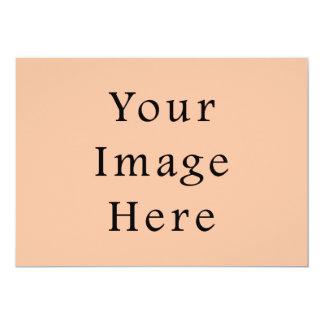 Peachy Skin Tone Beige Pink Color Trend Template 13 Cm X 18 Cm Invitation Card