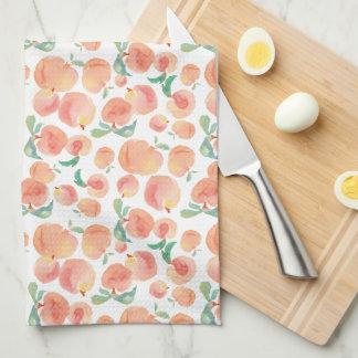Peachy Tea Towel
