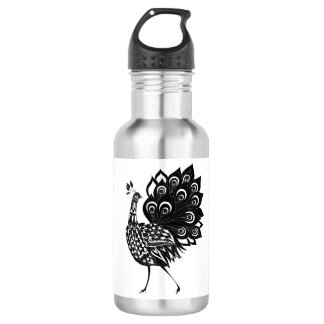 Peacock 532 Ml Water Bottle