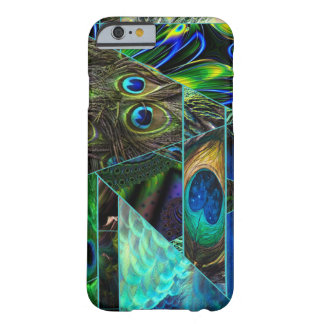 Peacock Abstract Barely There iPhone 6 Case