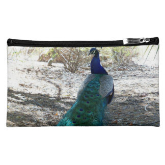 Peacock accesory bag cosmetic bags
