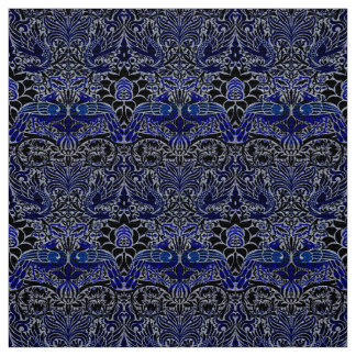 Peacock And Dragon Textiles Fabric