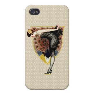 Peacock and Pinup Cases For iPhone 4