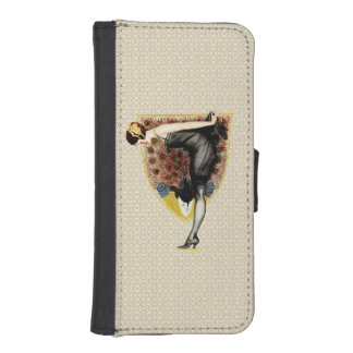 Peacock and Pinup iPhone 5 Wallet Case