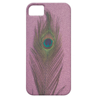 Peacock and Purple Glitter iPhone 5/5S Covers
