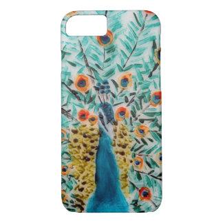Peacock Bird Art iPhone 7 Case